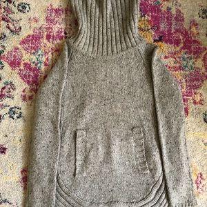 Cynthia Rowley knit grey sweater